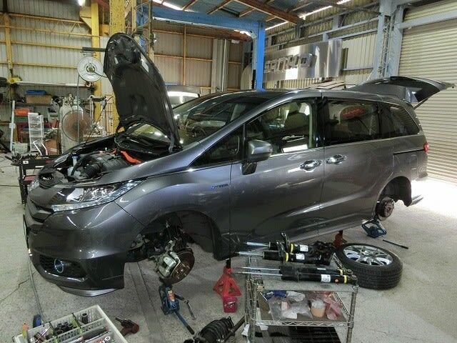 RCオデッセイHV・アウトランダーPHEV・30プリウス・ハイエース4WD