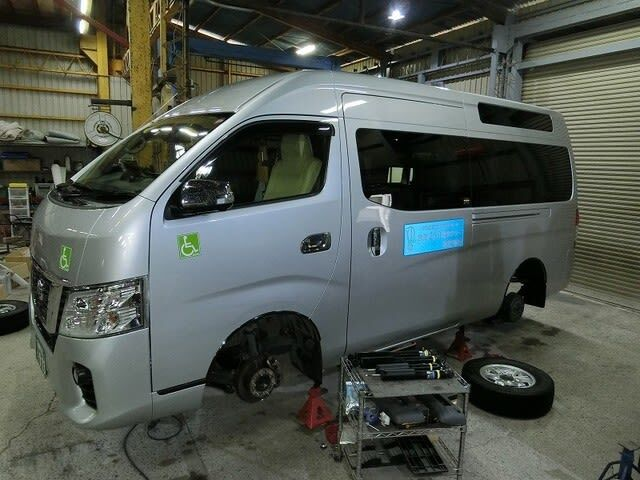 NV350介護タクシー ・ ウイッシュ4WD ・ 新型コロナ