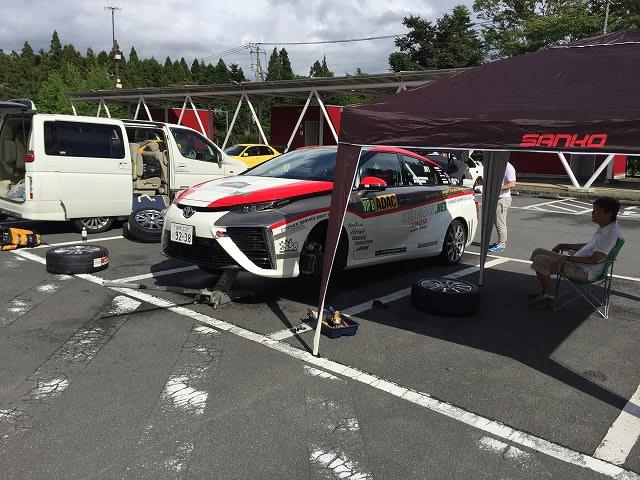 ■ミライ FSW EVレースサポート ・ 台風9号 ・ CX3 ・ アクア ・ RCオデッセイ ・ BPアウトバック ・ HIACE