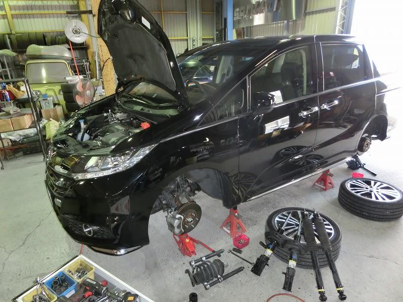 ■RCオデッセイ ・ HIACEキャンパー ・ イプサム 4WD