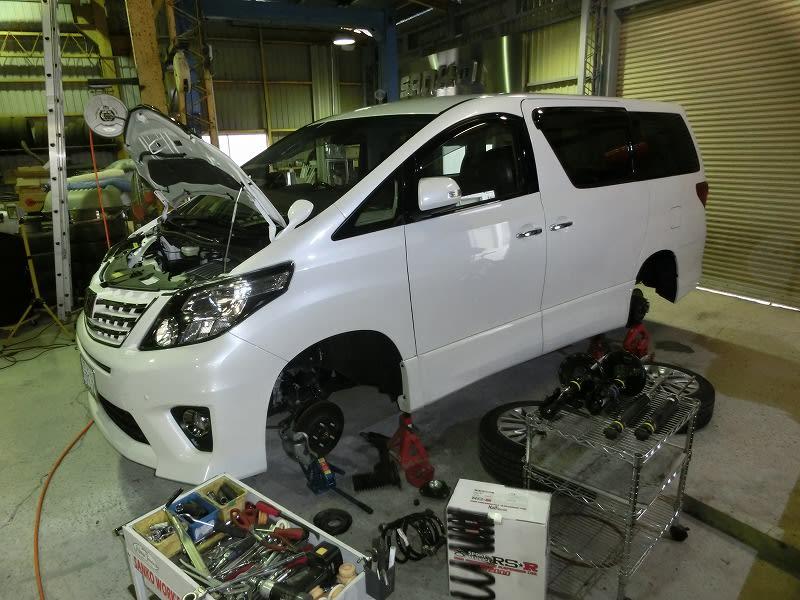 ■アルファード CFT仕様 ・ FIAT パンダ