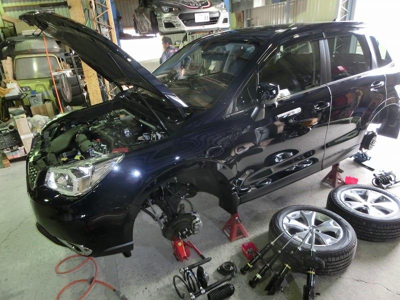 ■新型フォレスターNA & ステージア4WD 仕様変更