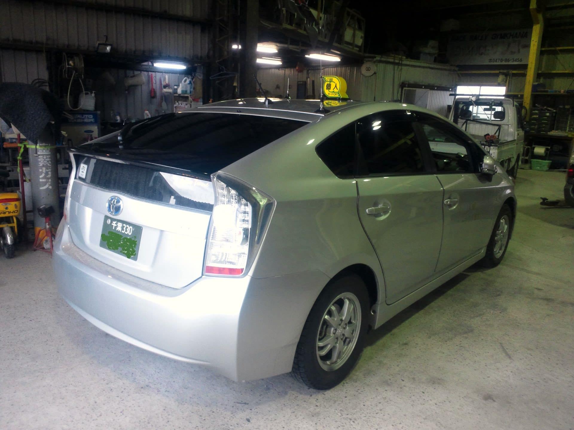 ■TOYOTA プリウス30系 タクシー ベリーx2 コンフォートに仕様変更